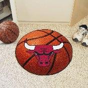NBA - Chicago Bulls Basketball Mat 27 diameter