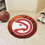 NBA - Atlanta Hawks Basketball Mat 27 diameter