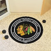 NHL - Chicago Blackhawks Puck Mat 27 diameter