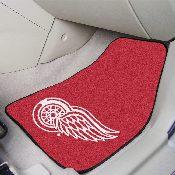 NHL - Detroit Red Wings 2-pc Carpet Car Mat Set 17
