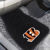 NFL - Cincinnati Bengals 2-pc Embroidered Car Mat Set 17