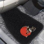 NFL - Cleveland Browns 2-pc Embroidered Car Mat Set 17
