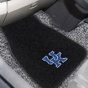 Kentucky 2-piece Embroidered Car Mats 18x27