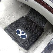 BYU 2-pc Vinyl Car Mat Set