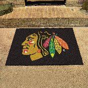 NHL - Chicago Blackhawks All-Star Mat 33.75x42.5