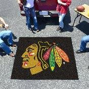 NHL - Chicago Blackhawks Tailgater Rug 5'x6'