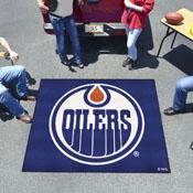 NHL - Edmonton Oilers Tailgater Rug 5'x6'