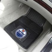 NHL - Edmonton Oilers 2-pc Vinyl Car Mat Set