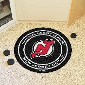NHL - New Jersey Devils Puck Mat
