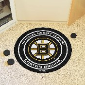 NHL - Boston Bruins Puck Mat
