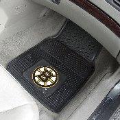 NHL - Boston Bruins 2-pc Vinyl Car Mat Set