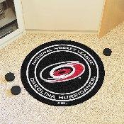 NHL - Carolina Hurricanes Puck Mat