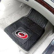 NHL - Carolina Hurricanes 2-pc Vinyl Car Mat Set