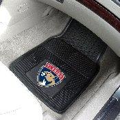 NHL - Florida Panthers 2-pc Vinyl Car Mat Set