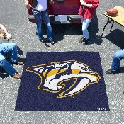 NHL - Nashville Predators Tailgater Rug 5'x6'