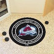NHL - Colorado Avalanche Puck Mat