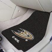 NHL - Anaheim Ducks 2-pc Printed Carpet Car Mats 17x27
