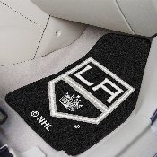 NHL - Los Angeles Kings 2-pc Printed Carpet Car Mats 17x27