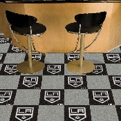 NHL - Los Angeles Kings Team Carpet Tiles