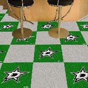NHL - Dallas Stars Team Carpet Tiles