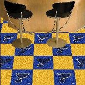 NHL - St. Louis Blues Team Carpet Tiles