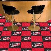 NHL - Carolina Hurricanes Team Carpet Tiles