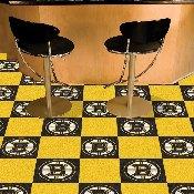 NHL - Boston Bruins Team Carpet Tiles