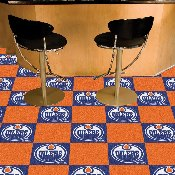 NHL - Edmonton Oilers Team Carpet Tiles