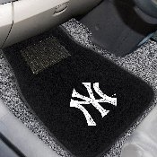 MLB - New York Yankees 2-piece Embroidered Car Mats 18x27