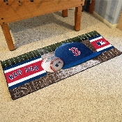 MLB - Boston Red Sox Baseball Runner 30x72