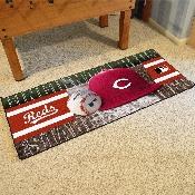 MLB - Cincinnati Reds Baseball Runner 30x72