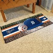 MLB - Detroit Tigers Baseball Runner 30x72