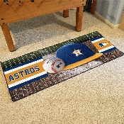 MLB - Houston Astros Baseball Runner 30x72