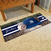 MLB - New York Yankees Baseball Runner 30x72