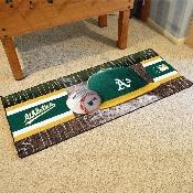 MLB - Oakland Athletics Baseball Runner 30x72