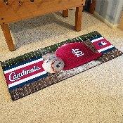 MLB - St. Louis Cardinals Baseball Runner 30x72