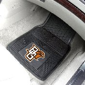 Bowling Green State University Heavy Duty 2-Piece Vinyl Car Mats 18x27