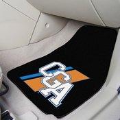 USCG Academy 2-pc Printed Carpet Car Mats 17x27