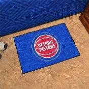 NBA - Detroit Pistons Starter Rug 19 x 30