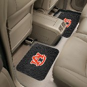Auburn Backseat Utility Mats 2 Pack 14x17
