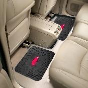Arkansas Backseat Utility Mats 2 Pack 14x17