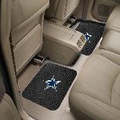 NFL - Dallas Cowboys Backseat Utility Mats 2 Pack 14x17