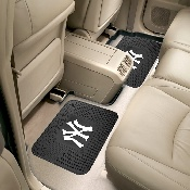 MLB - New York Yankees Backseat Utility Mats 2 Pack 14x17
