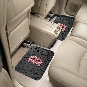 MLB - Boston Red Sox Backseat Utility Mats 2 Pack 14x17