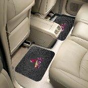 MLB - St. Louis Cardinals Backseat Utility Mats 2 Pack 14x17