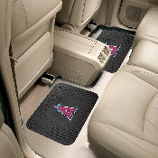 MLB - Los Angeles Angels Backseat Utility Mats 2 Pack 14x17