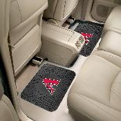MLB - Arizona Diamondbacks Backseat Utility Mats 2 Pack 14x17