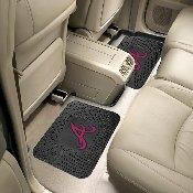 MLB - Atlanta Braves Backseat Utility Mats 2 Pack 14x17