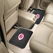 MLB - Cincinnati Reds Backseat Utility Mats 2 Pack 14x17