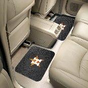 MLB - Houston Astros Backseat Utility Mats 2 Pack 14x17